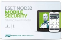 Программное Обеспечение Eset NOD32 Mobile Security 3устр 1Y Base Card (NOD32-ENM2-NS(CARD)-1-1)