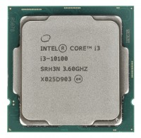 Процессор Intel Original Core i3 10100 Soc-1200 (BX8070110100 S RH3N) (3.6GHz/Intel UHD Graphics 630) Box
