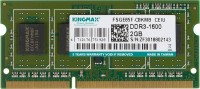 Память DDR3 2Gb 1600MHz Kingmax KM-SD3-1600-2GS RTL PC3-12800 SO-DIMM 204-pin