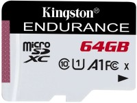 Флеш карта microSDXC 64Gb Class10 Kingston SDCE/64GB High Endurance w/o adapter