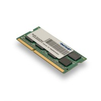Память DDR3L 4Gb 1600MHz Patriot PSD34G1600L2S RTL PC3-12800 CL11 SO-DIMM 204-pin 1.35В