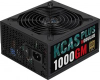 Блок питания Aerocool ATX 1000W KCAS PLUS 1000GM 80+ gold (24+8+4+4pin) APFC 140mm fan 10xSATA Cab Manag RTL