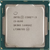 Процессор Intel Original Core i3 8100 Soc-1151v2 (CM8068403377308S R3N5) (3.6GHz/Intel UHD Graphics 630) OEM
