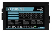 Блок питания Aerocool ATX 700W VX PLUS 700W (24+4+4pin) APFC 120mm fan 4xSATA RTL
